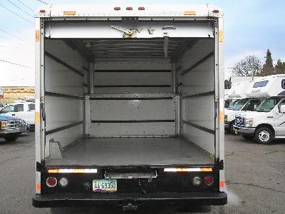 U-Haul Truck Inside