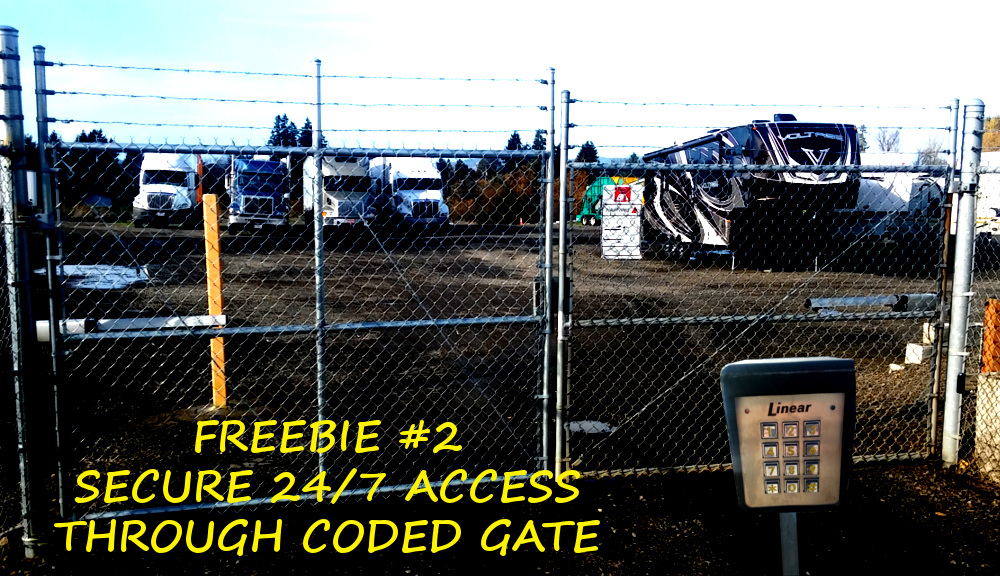 RVu0027s Storage For Salem U0026 Keizer OR. | Free Dump Station U0026 Low Cost !